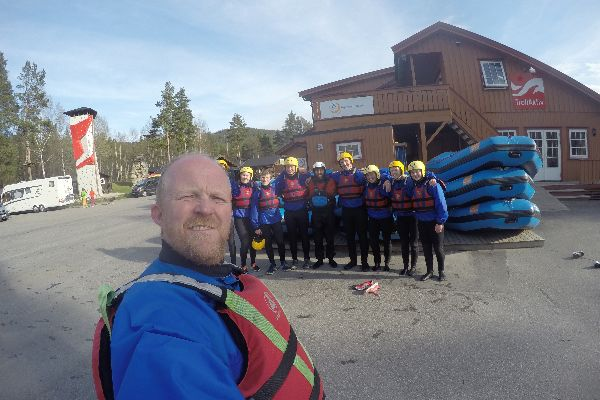 Riverrafting i Norge | Team Nord