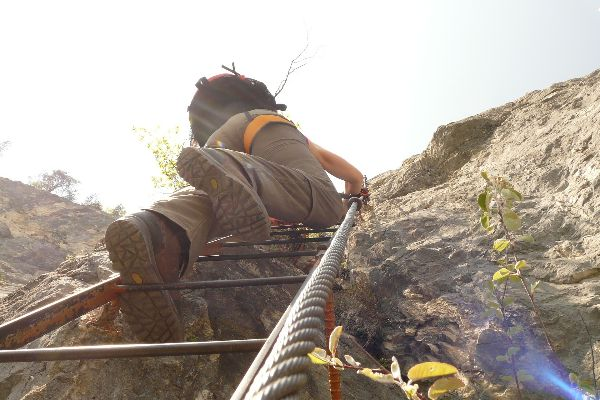 Via Ferrata Nord klatring | Team Nord